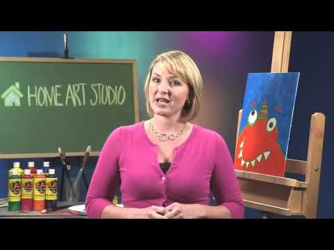Welcome to Home Art Studio, elementary art lessons by Lindsey Volin