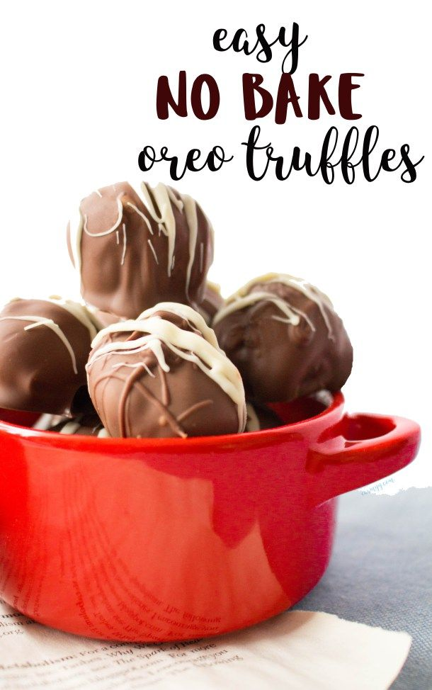 Looking for an easy dessert to make for a party or a bake sale? This recipe for easy no bake Oreo truffles are prefect bite sized treat.