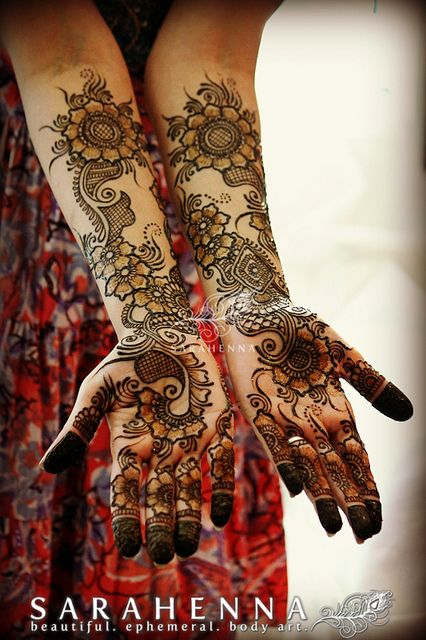 floral-arabic-bridal-mehandi-hands-palms-w | Flickr - Photo Sharing!