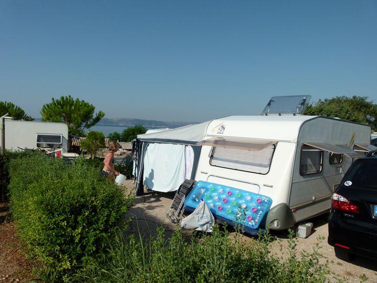 Camping Krk op eiland Krk Kroatie 2013