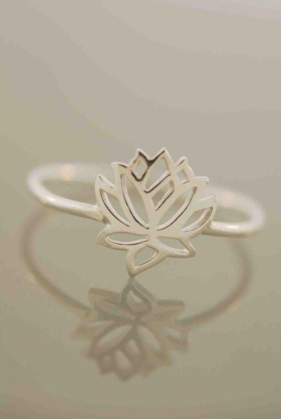 Tiny Wonders Lotus Ring by TeriLeeJewelry on Etsy, $28.00