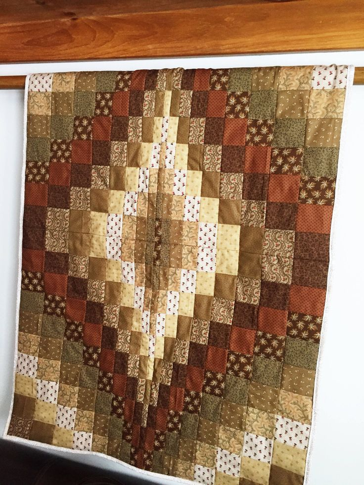 A personal favorite from my Etsy shop https://www.etsy.com/listing/573368436/bargello-quilt-sentimental-gift-brown