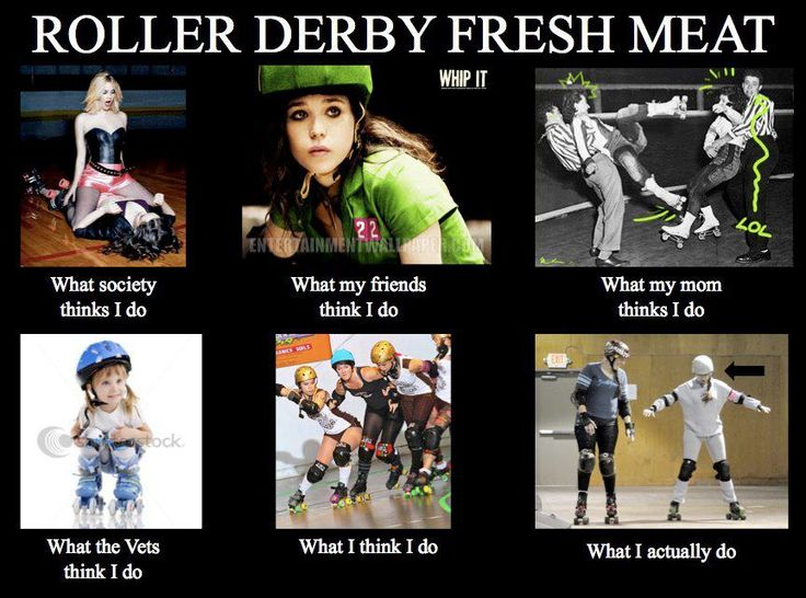 Roller derby fresh meat!