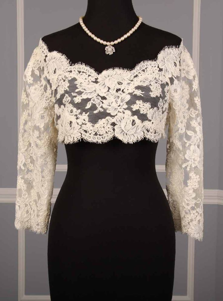 lace bolero jacket idea
