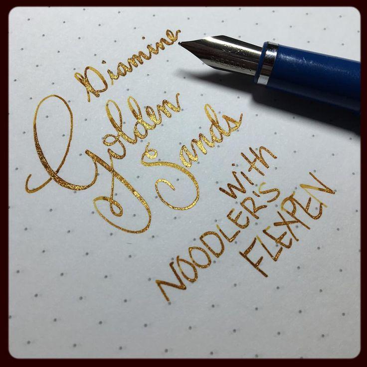 Diamine Golden Sands ink