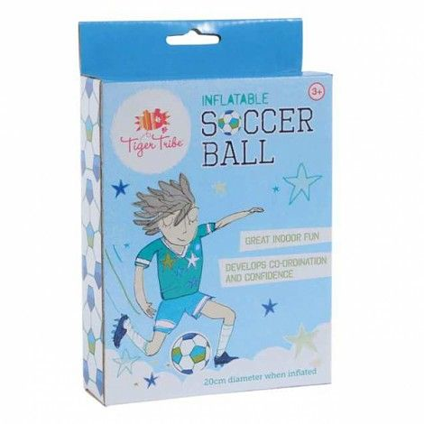 Inflatable Soccer Ball for some indoor fun!