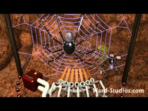 Steampunk Spider Band performs Electrorachnid Soda Pop - Animusic style Animated Music Video...  on the longer side.  Use for movement ~ have kids watch and listen for the division between sections.