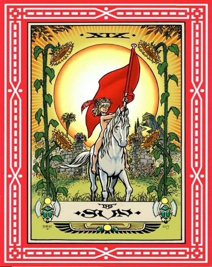 Tarot cards by Peter Pontiac