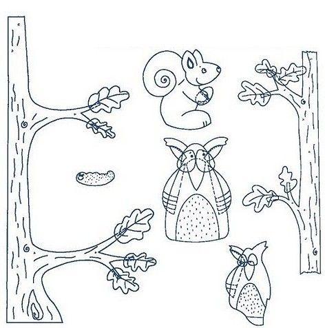 Σας παραθέτω τρεις νέες φθινοπωρινές προτάσεις διακόσμησης με τα σχετικά πατρόν!