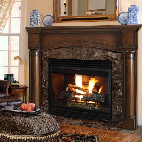 17 best ideas about fireplace mantel surrounds on pinterest fireplace mantels faux fireplace - Fireplace finish ideas ...