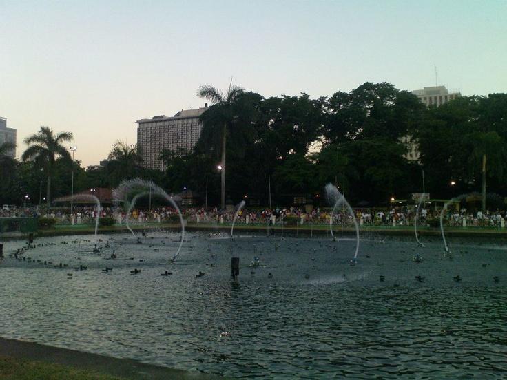 Dancing Fountain, Luneta Park Manila, Phil