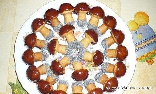 Печенье «Грибочки».