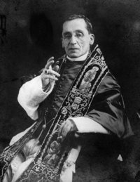 Pope Benedict XV, the Pope during Fatima.  (spiritdaily.com)