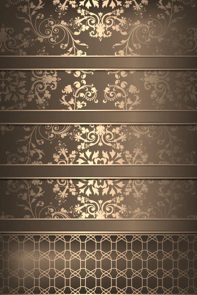 Iphone 5 Home Wallpaper Shelf Shelves Gold Iphone