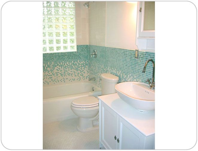 Gradient For Bathroom Floor : Images about interiors tiles on