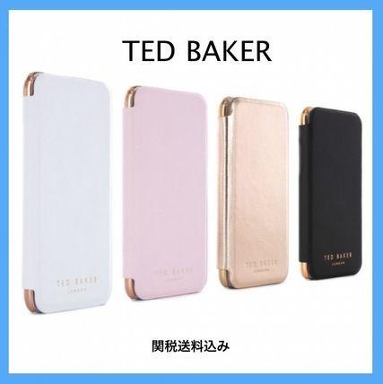 *送料関税込み*TED BAKER*ミラー付 手帳型 iphone6/6sケース