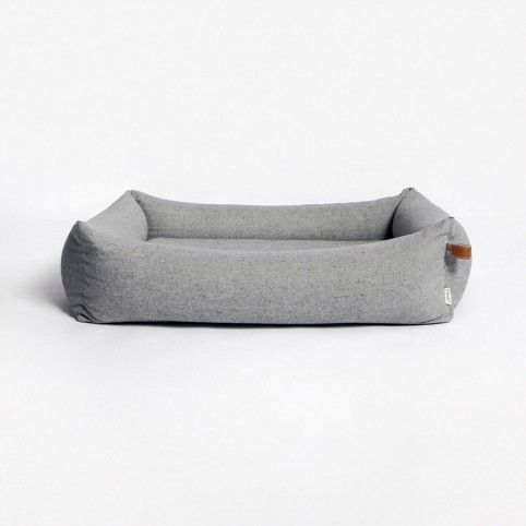 Hundebett Sleepy Deluxe Tweed Grey M = 75 x 95 cm ( außen ), 60 x 80 cm ( innen ) L = 95x115 cm ( außen ), 80x100 cm ( innen )
