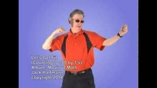 Let's Get Fit | Count to 100 | Smart Kids | Kids Videos | YouTube for Kids | Jack Hartmann - YouTube