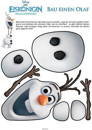 Die Eiskönigin - Baue einen Olaf Mehr