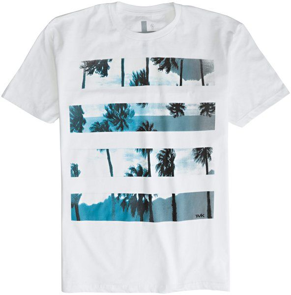TAVIK PALM LINES SS TEE > Mens > Clothing > Tees Short Sleeve | Swell.com