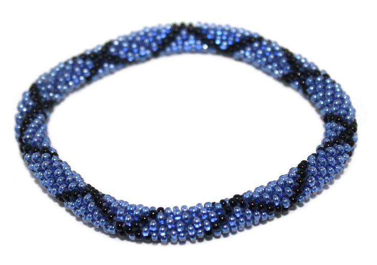Nepal Bracelet, Roll On Bracelet, Glass bead bracelet, Tribal bracelet, Boho Bracelet, Seed Beads Bracelet UNNQW