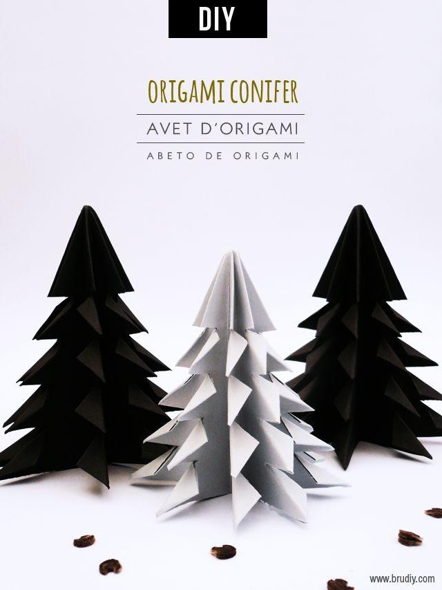 DIY Origami Christmas Tree Tutorial