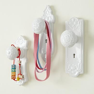 Eclectic wall hooks