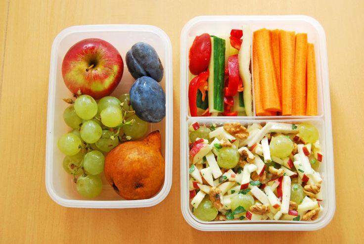 Moha Konyha: Bento box - bento doboz 7 waldorf saláta zöldséggel gyümölccsel