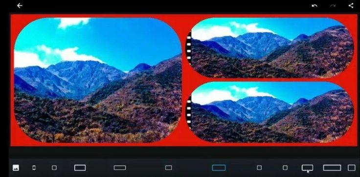 Apps para editar fotos- Photoshop Express- creando un collage
