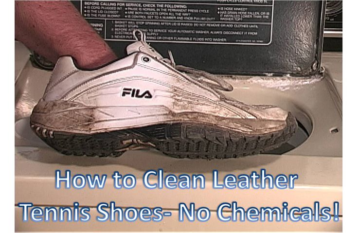 how to clean white shoes without bleach