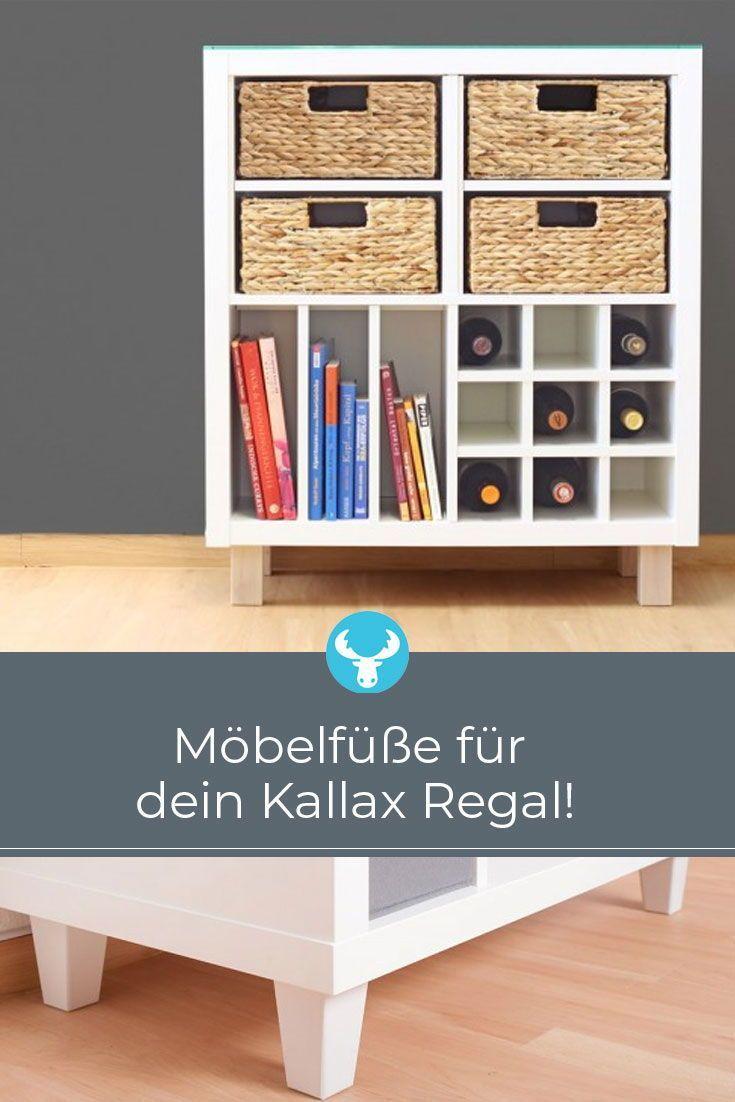 Stell Dein Ikea Kallax Oder Expedit Regal Auf Die Beine Mit Unseren