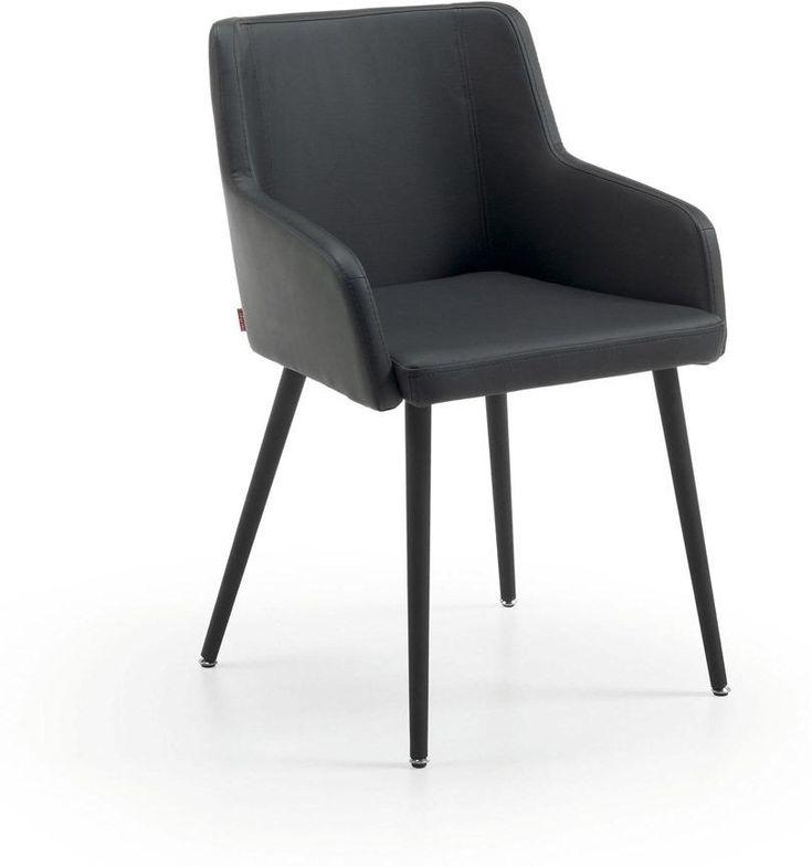 Tolle stuhl schwarz kunstleder