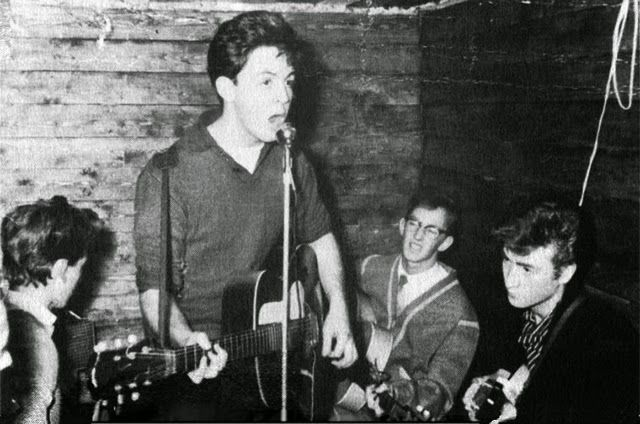 The Quarrymen  are a British skiffle/rock and roll group, formed by John Lennon in Liverpool in 1956, which eventually evolved into the Beat...