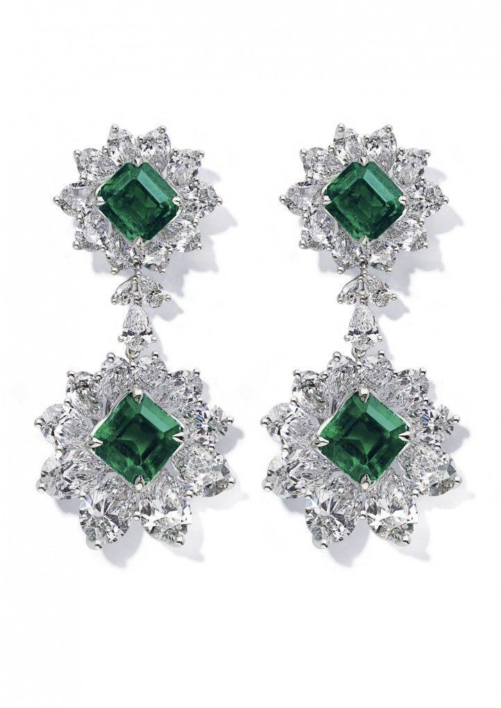 Chopard Montre Montre aux accents d'émeraude et de diamant