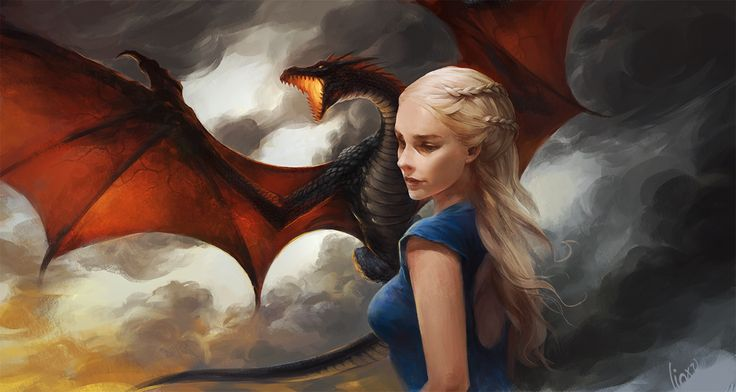 daenerys targaryen fan art - Google Search