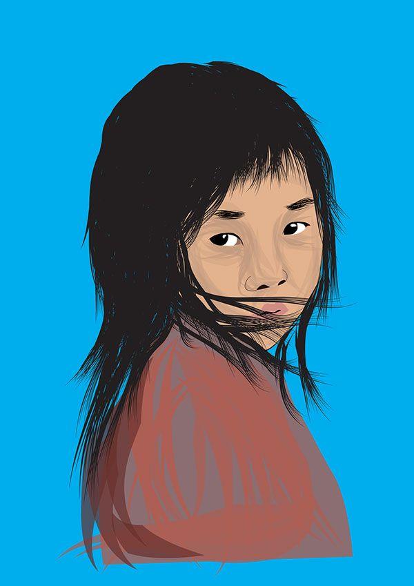 Portraits Design on Behance