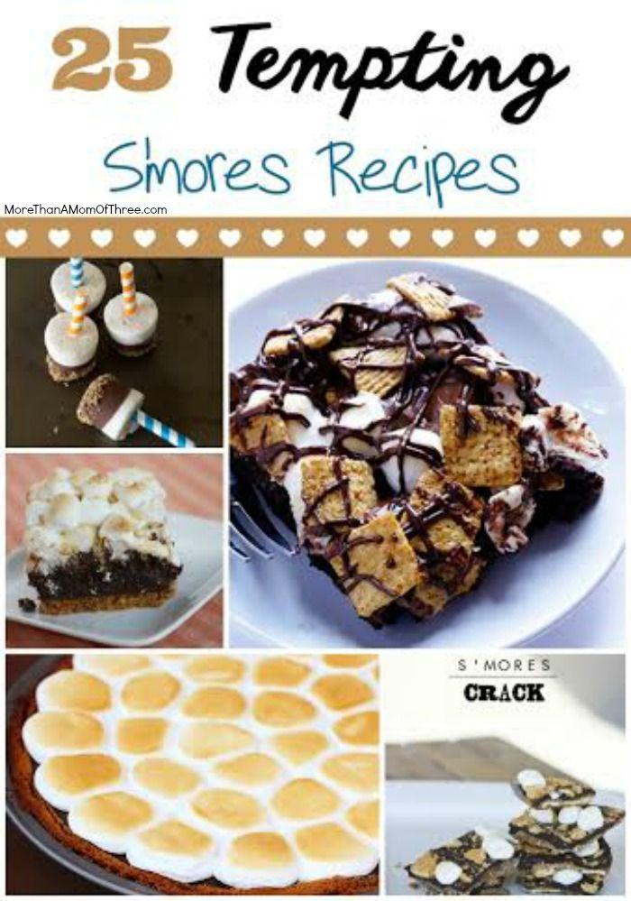25 tempting smores recipes