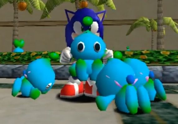 Sonic & Classic Chao | The Chao Garden | Sonic adventure
