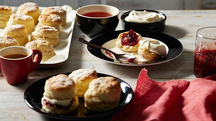 During his UK travels, Luke Nguyen learnt how to make moist, more-ish scones. Serve these treats warm with clotted cream and jam. #LukeNguyensUK