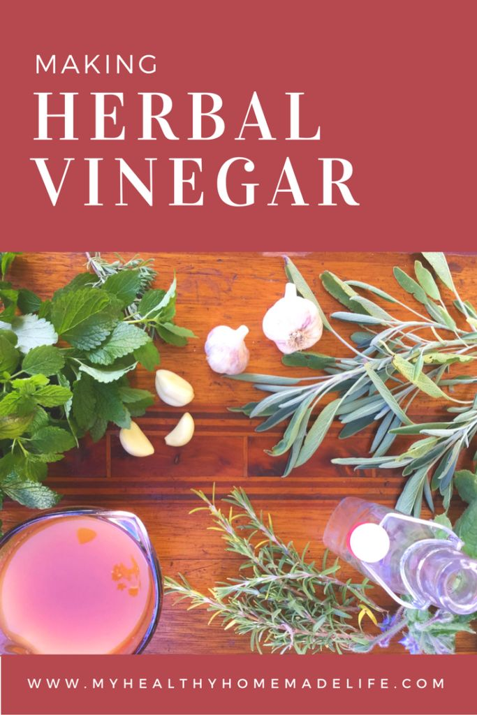 How to Make Herbal Vinegar | Raw | Vegan | Healthy Recipes | DIY | Herbs | Herbal Medicine | Home Remedies