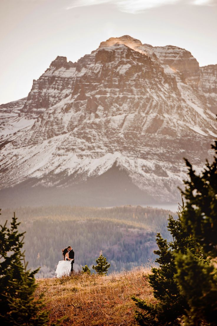 Top 5 Spots in Glacier National Park to Elope