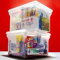 a pediatrician explains her emergency kit. This is hard to think about but really good information