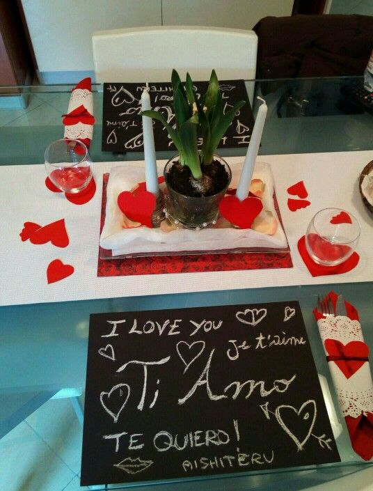 Tavola per San Valentino by Caty
