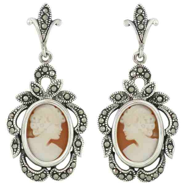 Pendientes de plata con camafeo: Camafeo Chic, ღ Camafeo, Fashion Faded, Plata Con, Con Camafeo, Payment, Fashion Sense, Bling Bling