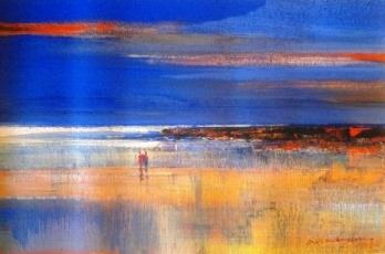Walk on the beach - Alice Art Gallery