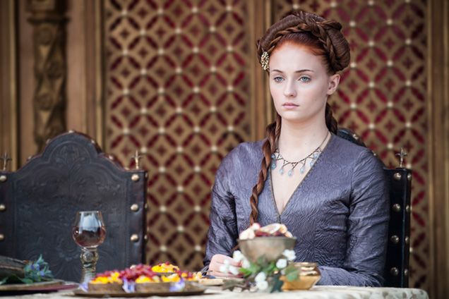 """The best hair looks from """"Game of Thrones"""" season 4: Sansa Stark's mind-boggling hairstyle"""