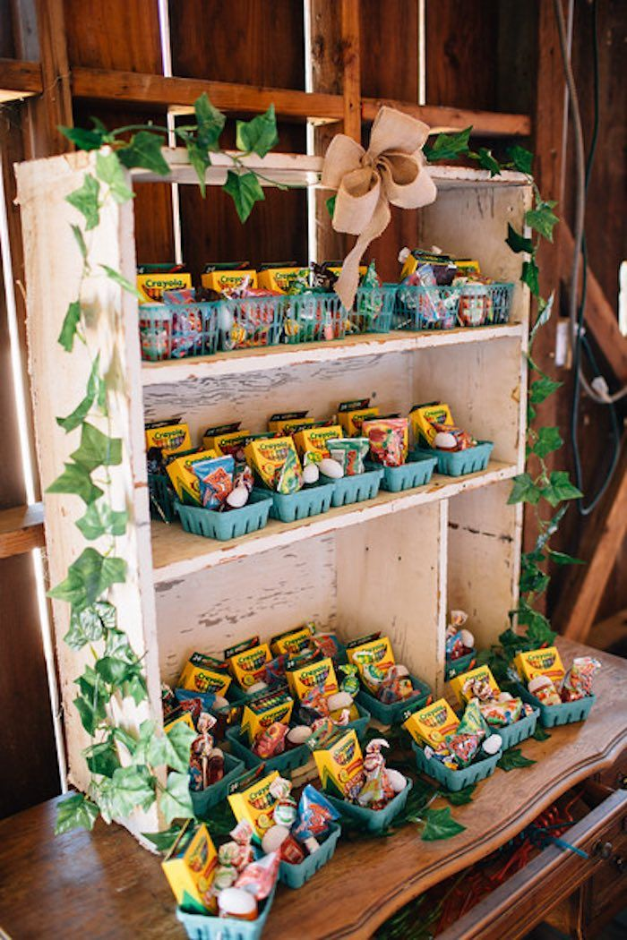 Berry Basket Favors from a Farmers Market Birthday Party via Kara's Party Ideas | KarasPartyIdeas.com (22)
