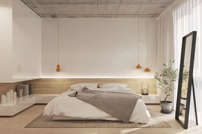 1001 ideas sobre decoraci n dormitorios estilo moderno for Dormitorios minimalistas pequenos