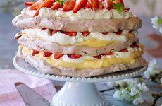 Marängtårta till Mors dag