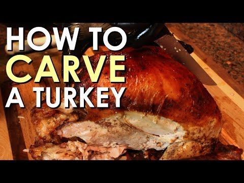 Turkey Week: How to Carve a Turkey [VIDEO] -by BRETT & KATE MCKAY on NOVEMBER 25, 2013